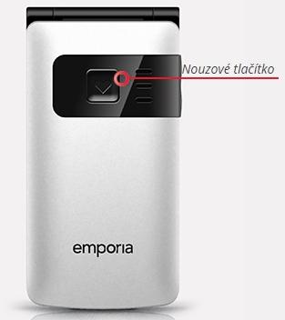 Emporia FLIPbasic CZ white nouze