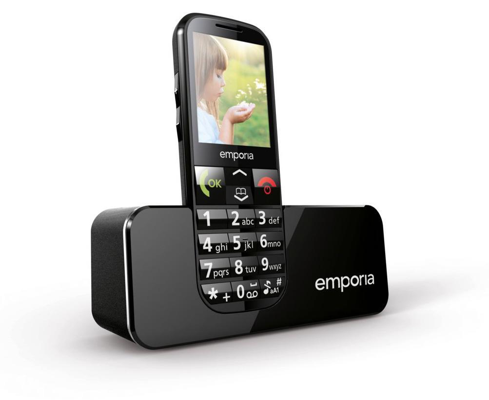 TELEFON EMPORIA ECO - ČERNÁ