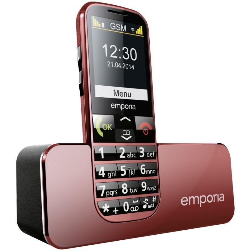 TELEFON EMPORIA ECO - red
