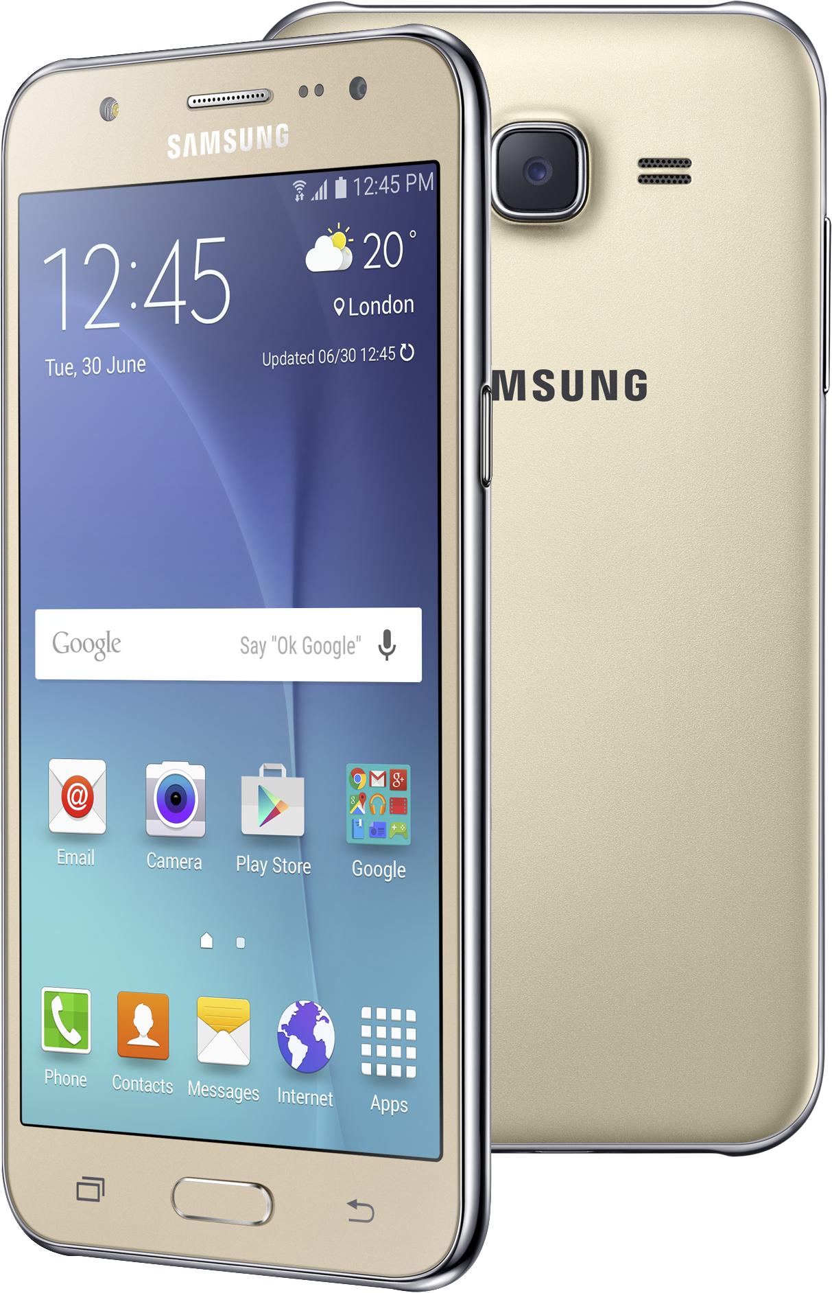 Samsung Galaxy J5 zlatá